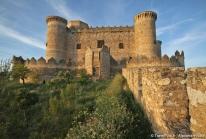 Château de Belmonte dans la Mancha espagnole – des ruines Mudéjar bien préservées