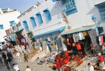 "Sidi Bou Saïd – le ""petit paradis blanc et bleu""du nord tunisien"