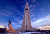 Hallgrimskirkja – de fausses colonnes basaltiques forment une église naturelle à Reykjavik