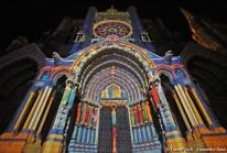 Chartres en Lumières – la Fête de la Lumière 2010 illumine 26 monuments de la ville