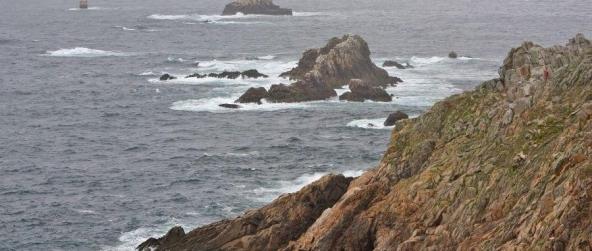 La Pointe du Raz – une proue de granite à l'extrême ouest de la France