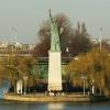 Statue de la Liberté de l'île des cygnes à Paris – une maquette signée Bartholdi