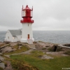 Phare de Lindesnes : le point le plus mridional de Norvge, o se rencontrent Mer du Nord et Mer Baltique
