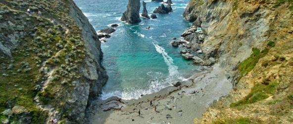 Les Aiguilles de Port-Coton à Belle-Île en Mer : le trésor de Claude Monet