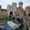 Sirmione &#8211; la forteresse Scaliger dfend le Lac de Garde pour Vrone