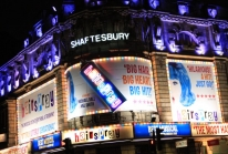 Hairspray Musical at the Shaftesbury Theatre in London
