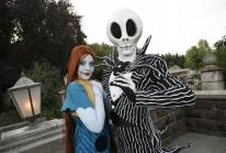 Jack et Sally de Tim Burton en os et en os à Disneyland Paris !