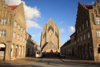 Grundtvigs Kirke, une église danoise moderne toute en briques