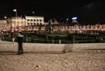 Les patinoires de plein air fleurissent en ville pour les fêtes