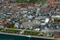 Amalienborg : quatre palais en octogone pour la famille royale danoise