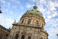 Marmorkirken, l'un des dômes en marbre les plus grands d'Europe