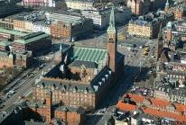 Rådhuspladsen, la place de l'Hôtel de Ville de Copenhague