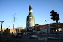 La bouteille de bière Tuborg géante d'Hellerup