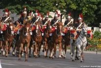 Défilé militaire du 14 Juillet sur les Champs-Elysées à Paris