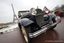 Traversée de Paris 2010 – Défilé de voitures anciennes sur la capitale!