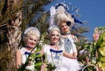 Bataille de fleurs sur la Promenade des Anglais au Carnaval de Nice