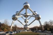 Atomium – un cristal de fer agrandi 165 milliards de fois pour l'Expo Universelle de 1958 à Bruxelles
