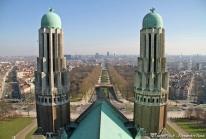 Basilique de Koekelberg – un Sacré-Cœur «art déco» à Bruxelles