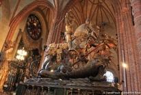 Storkyrkan, la cathédrale de Stockholm où Saint Georges terrasse le Dragon