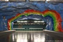 Tunnelbana – le métro de Stockholm est aussi la plus vieille galerie d'art au monde