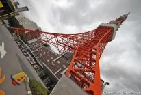 Tokyo Tower – la petite sœur japonaise de la Tour Eiffel rouge et blanche