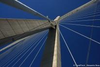 Pont de Normandie ou comment enjamber l'estuaire de la Seine entre le Havre et Honfleur