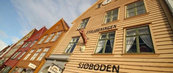 Bryggen – les demeures en bois colorées de la Ligue Hanséatique à Bergen