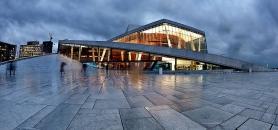 Norske Opera – le renouveau de la banlieue d'Oslo en lignes obliques